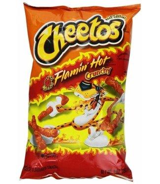 Cheetos Cheetos Flaming Hot Crunchy 226.8 gr Frito lay