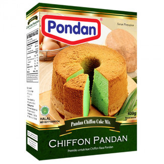 Pondan chiffon pandan cake mix 400 g