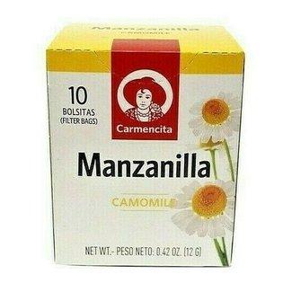 Carmencita Tea Manzanilla 10 tea bags