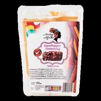 heritage african Suya Pepper Seasoning 150gr