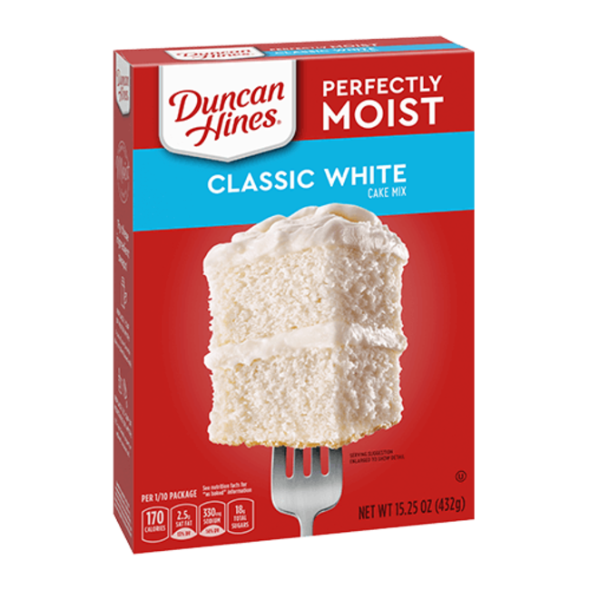 Duncan Hines Duncan Hines Classic White cake mix