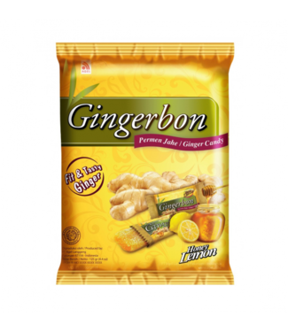 Agel Gingerbon Honey Lemon snoep 125gr