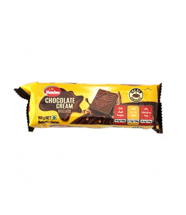 munchee chocolate cream biscuits 100gr