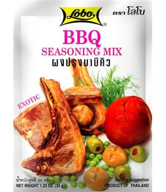 lobo bbq seasoning mix 35gr
