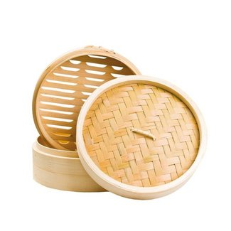 bamboo steamer dia 15 cm