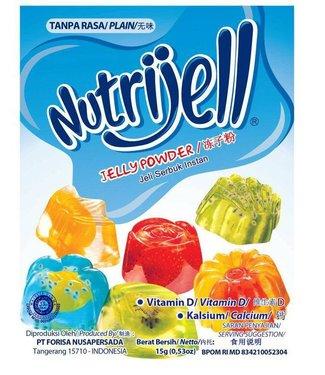 nutrijell jelly powder plain 15gr