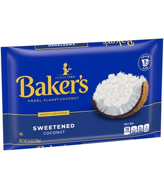 baker's angel flake coconut 14oz (396gr)
