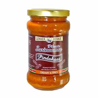 Lekker Bekkie Spicy Surinamese peanut butter - Creamy & Spicy