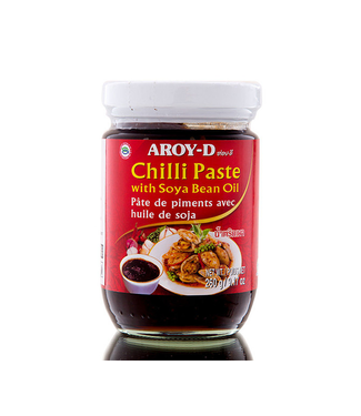 aroy-d Chilli Paste with Soya Bean Oil 260gr