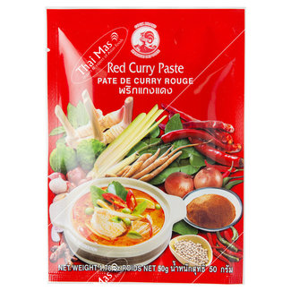 cock brand Red Curry Paste 50gr