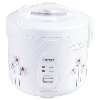 Ricco Rice Cooker 1.8ltr Flower Decor