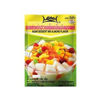 Agar Dessert Mix Almond Flavour 130gr Lobo