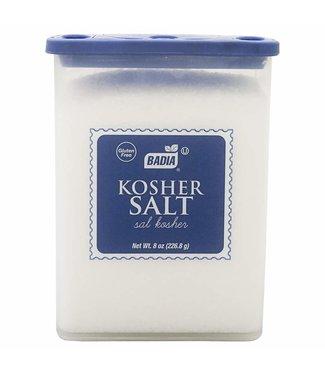 badia kosher salt 8oz (226.8g)