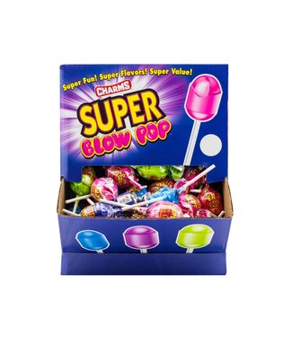 Charms  Super Blow Pops 100 stuks