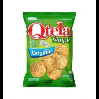 Qtela tempe chips - Rasa original