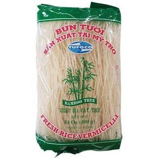 bun tuoi rice vermicelli bamboo tree 400gr Tufoco