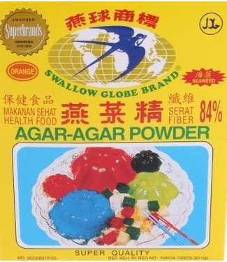 Swallow Globe Brand Agar-Agar Geleermiddel oranje 7 gram