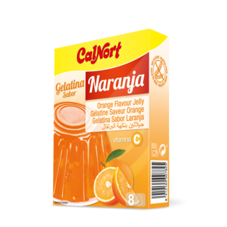 calnort gelatina orange 2x85gr