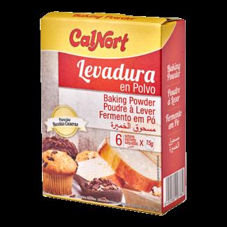 calnort baking powder 6x15gr