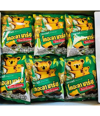 lotte koala march Chocolate Biscuit box 24x19.5gr