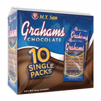 M.Y. San my san graham crackers chocolate, biscuits 250g