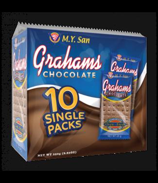 M.Y. San m.y. san graham crackers chocolate, biscuits 250g