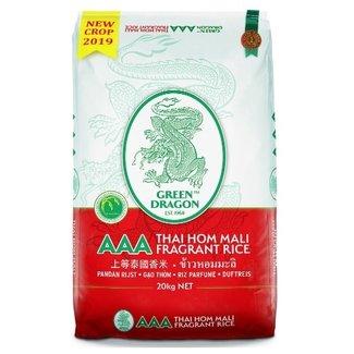 Green Dragon Green Dragon Thai Hom Mali, Pandan Rijst 20 kg