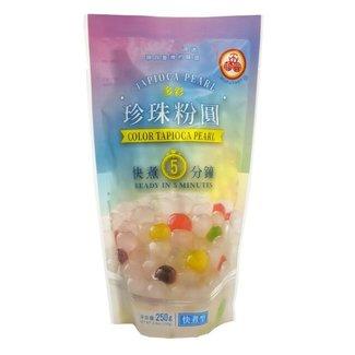 Tapioca Pearl Color Sugar Flavor WuFuYuan 250g