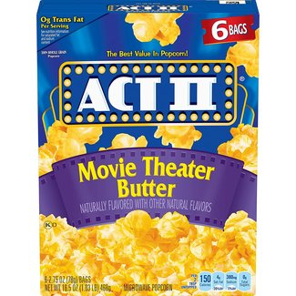 act II Movie Theater Butter 3 - 2.75 oz bags (Net 234g)