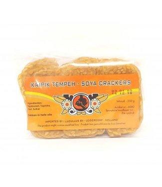 Lucullus Kripik Tempeh - Soya Crackers 250g