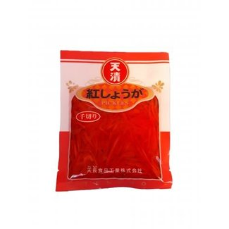 Red ginger strips in vinegar 45g Tencho Beni Shoga
