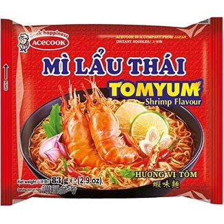 acecook mi lau thai tom yum instant noodle 83g