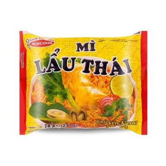 Acecook Noodle Mi Lau Thai Chicken Flavor 78g