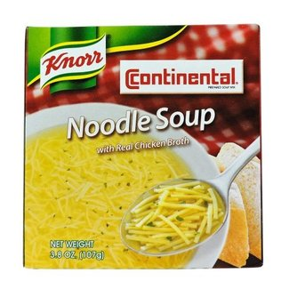 Knorr Knorr Continental noodle soup 3.8 oz (107gr)