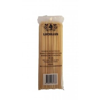 Bamboe Satestokjes 20cm Lucullus