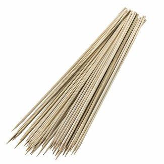 bamboo skewers 30 cm - 100 stuks welltop