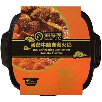 Beef Hot Pot - Haidilao HDL Self heating 395gr - Tomato Flavor