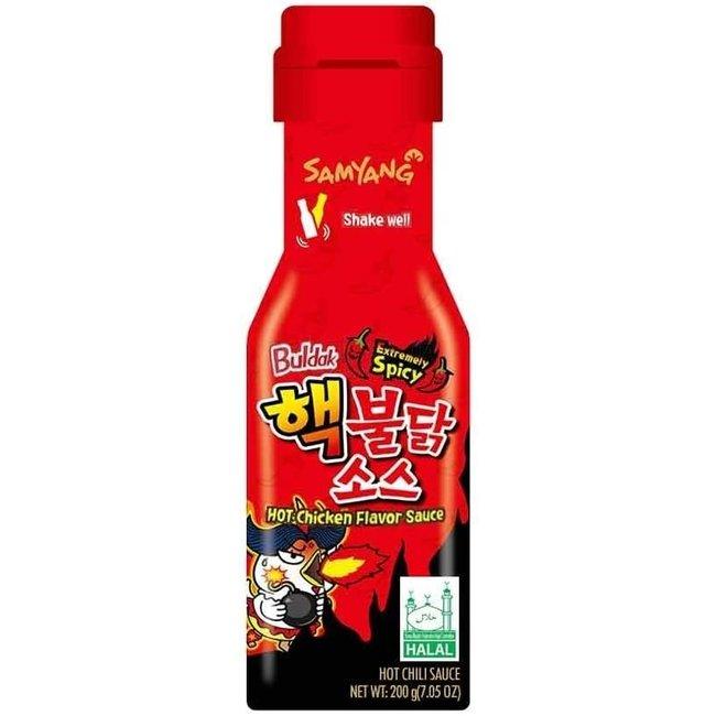 samyang buldak extremely spicy sauce 200gr