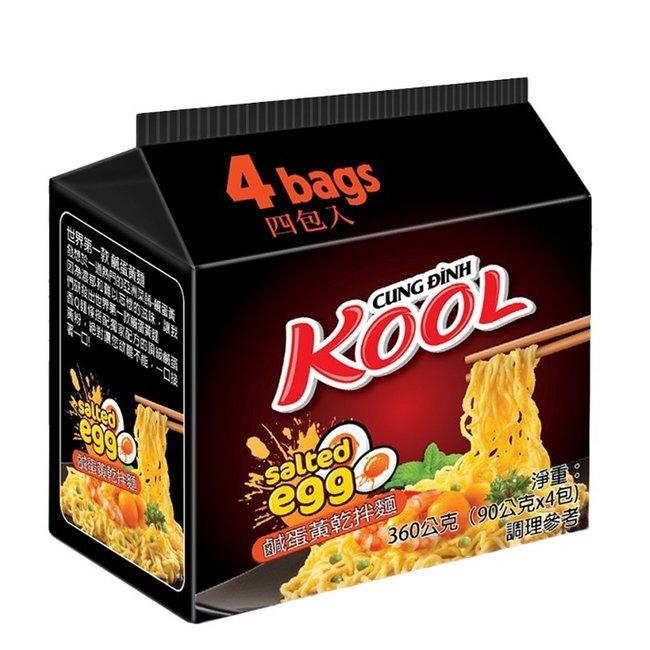 Noodles Kool Cung Dinh Salted Egg 4 x90gr