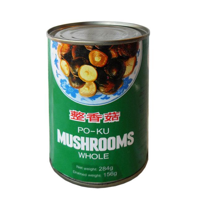 Poku Mushrooms Whole 284g