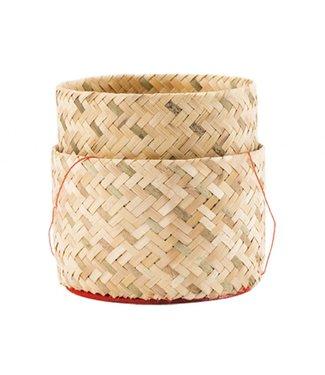 Bamboo Sweet Rice Box Ø 13 cm