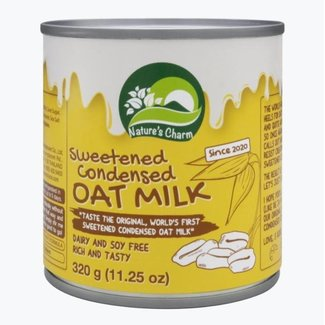 sweetened condensed oat milk 320g - nature charm