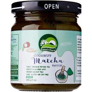 coconut matcha sauce 200g nature's charm