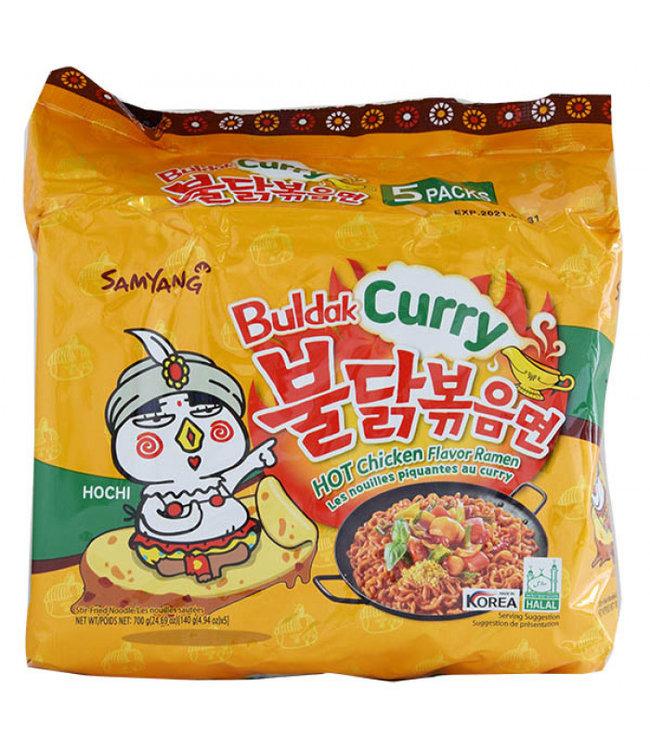 Samyang Buldak Curry Hot Chicken Ramen 5 Packs