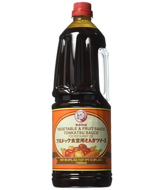 bull-dog vegetable & fruit tonkatsu sauce 60.9fl oz - 1800ml