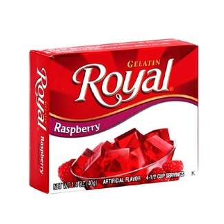 Royal Raspberry Gelatin 1.41oz - 40g