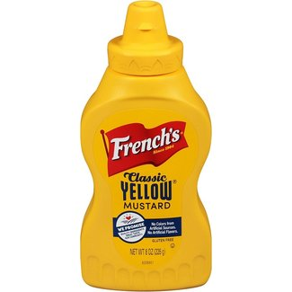 french's classic yellow mustard 8 oz - 226g