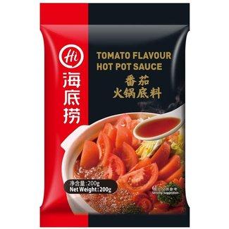 Tomato Flavor Hot Pot Seasoning 200g HaiDiLao