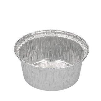 aluminium cups ⌀ 8 cm, 120ml - 100 stuks