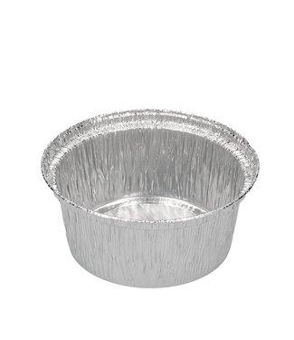 aluminum cups ⌀ 8 cm, 120ml - 100 pcs